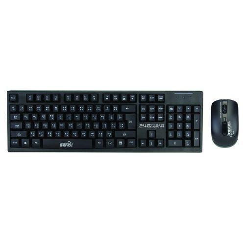 คีย์บอร์ด เม้าส์ไร้สาย ซิกโน่ โปร ซีรี่ย์ Signo Pro Series 2.4G Wireless Keyboard and Mouse