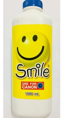 smile หมึกเติมปริ้นเตอร์ หมึกเทียบเท่า canon 1000ml cyan