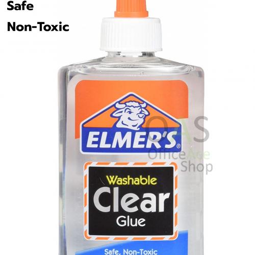 กาวน้ำ เอลเมอร์สเคลียกลู ELMER'S Washable Clear Glue 5 ออนซ์ #2101080
