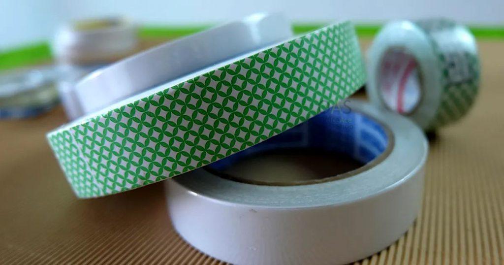 เทปกาวสองหน้า double-sided tape